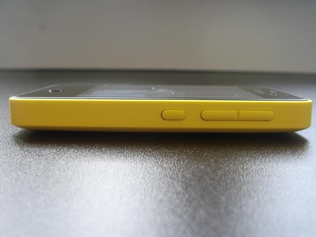 Пластик желтый матовый