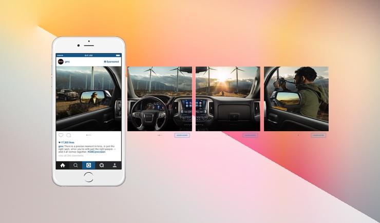 Как сделать панорамную картинку в инстаграм