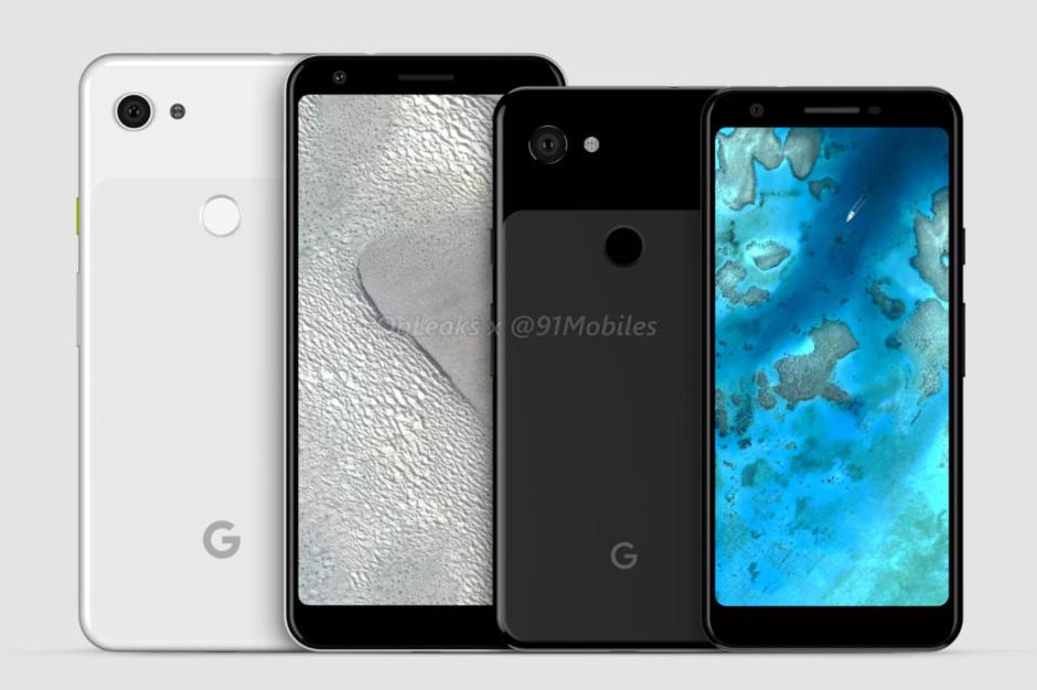Google выпустит Pixel 3a и Pixel 3a XL