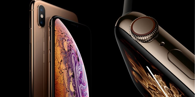 iPhone XS, iPhone XS Max и Apple Watch Series 4