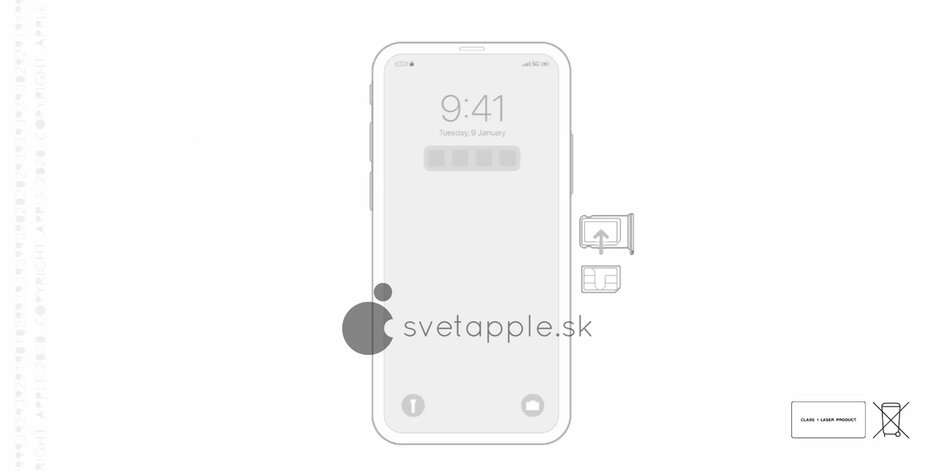 iPhone без «чёлки»