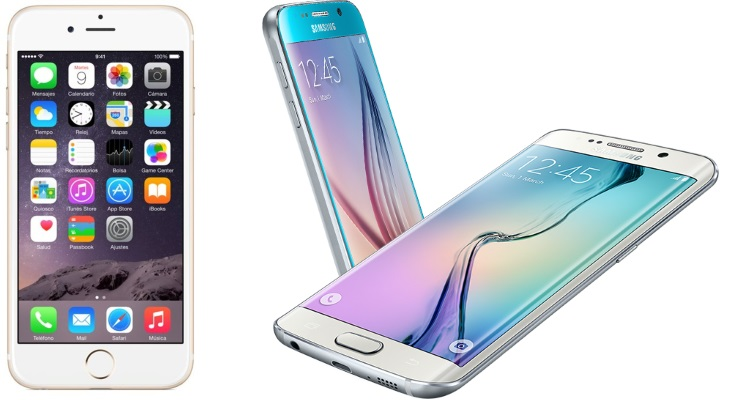 iPhone 6, Galaxy S6, Galaxy S6 Edge