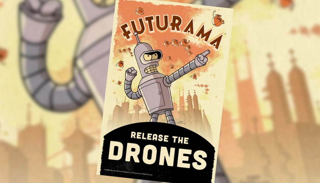 uturama: Release the Drones