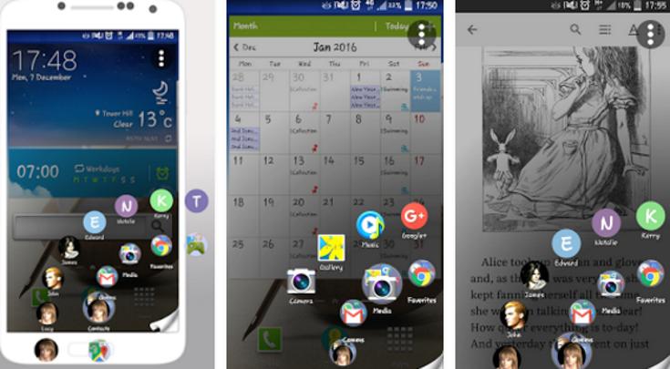 10 свежих лаунчеров для Android