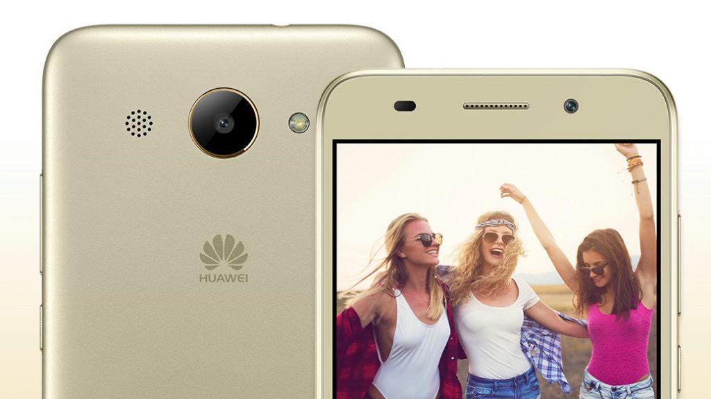 Смартфон Huawei Y7 представлен официально