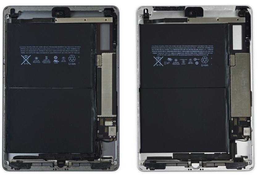 Новый iPad унаследовал множество деталей уiPad Air