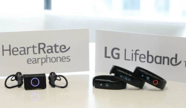 LG HeartRate и LifeBand Touch