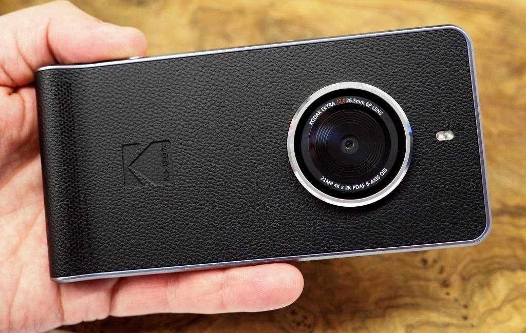 Смартфон Kodak Ektra добрался до Российской Федерации