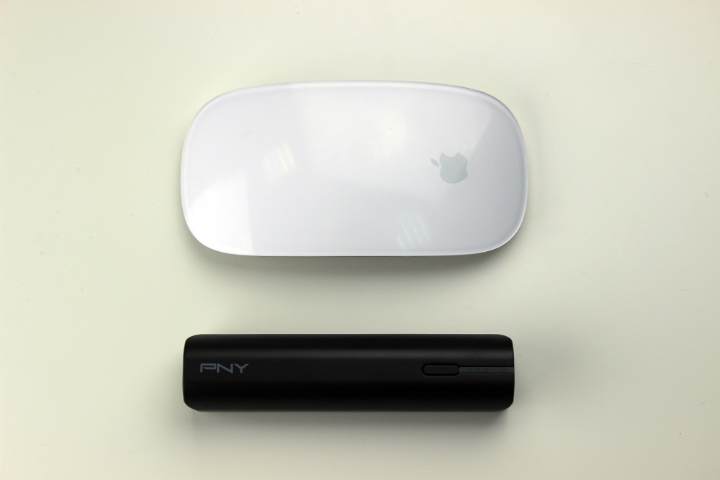 PNY PowerPack T2600 и Magic Mouse