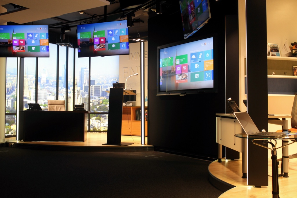 Экскурсия в Microsoft Technology Center