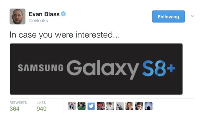 Самсунг покажет новые мобильные телефоны Galaxy S8 иGalaxy S8 Plus