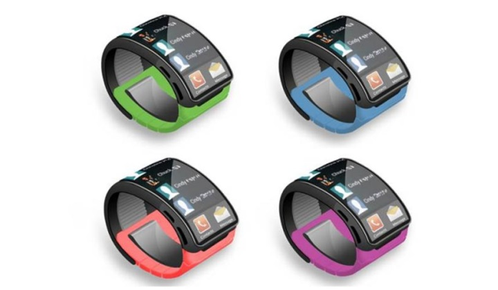 Концепт Samsung Galaxy Gear 2