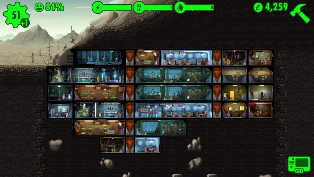 Баг в игре Fallout Shelter