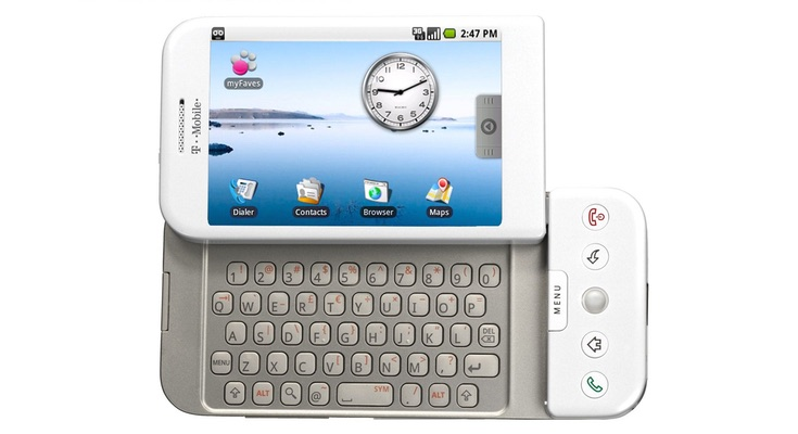2008 год — T-Mobile G1