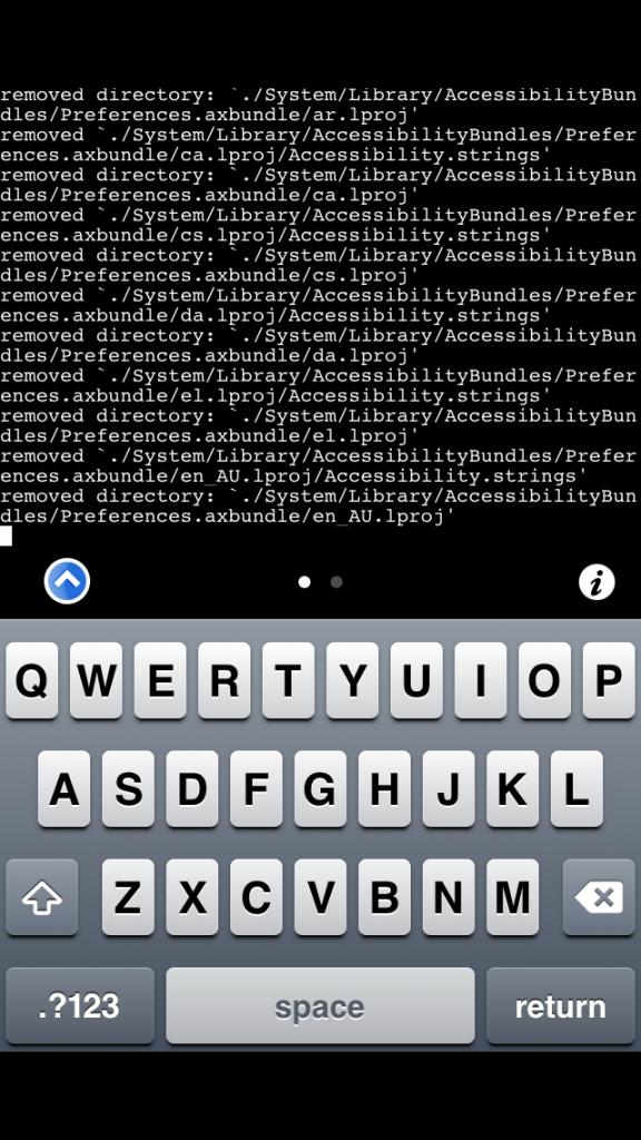 iOS: удаление лишних языков