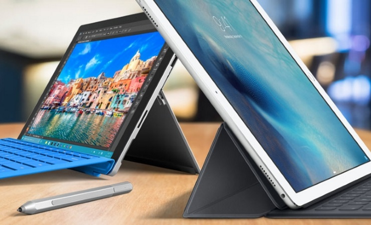 Surface Pro 4 vs Apple iPad Pro