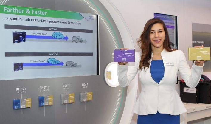 Samsung презентовала аккумулятор для электрокаров, позволяющий проехать до 600 км