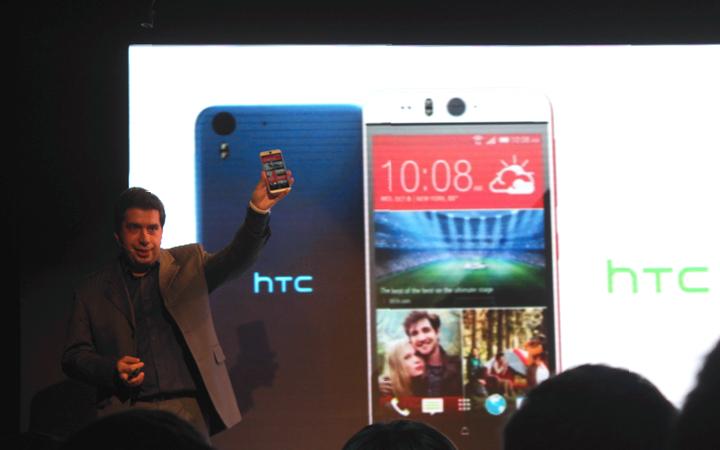 Российская премьера HTC Desire EYE — лучший смартфон для селфи