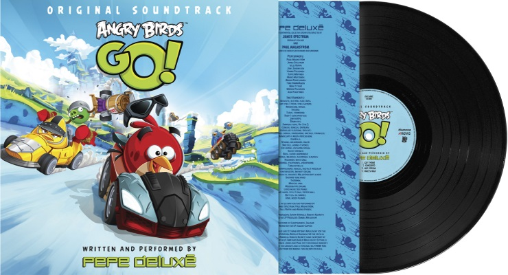 Angry Birds Go Soundtrack