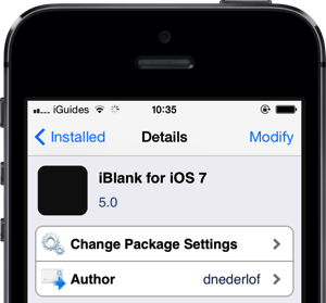 iBlank for iOS 7