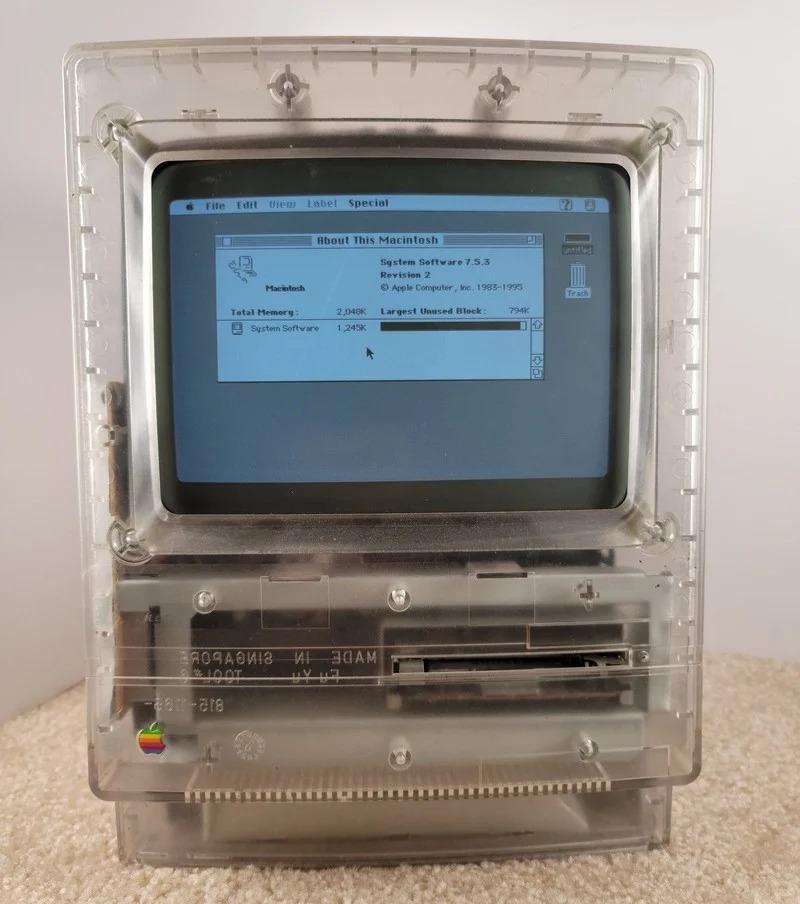 Прототип Macintosh Classic