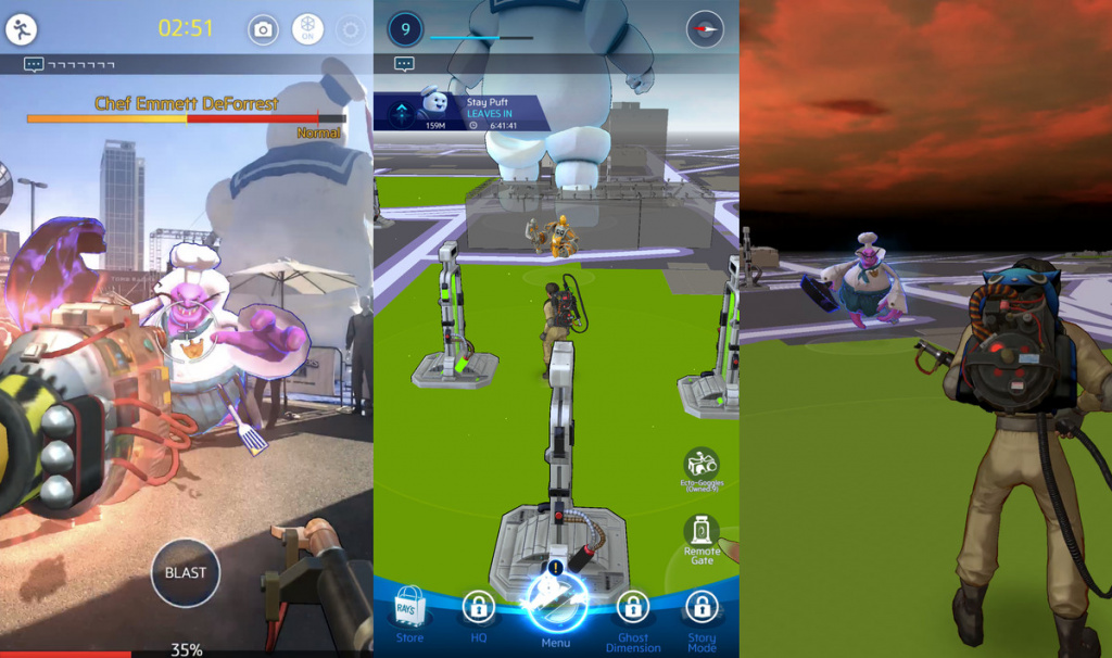 Ghostbusters World AR