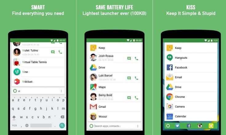 5 свежих лаунчеров и 1 локскрин для Android