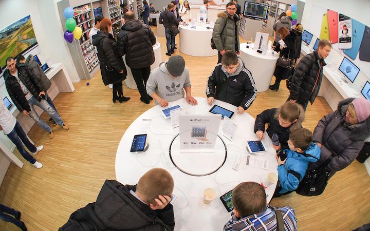 Тяжелое время для Apple в России