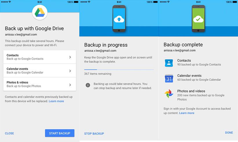 Google упростил переход сiOS на андроид