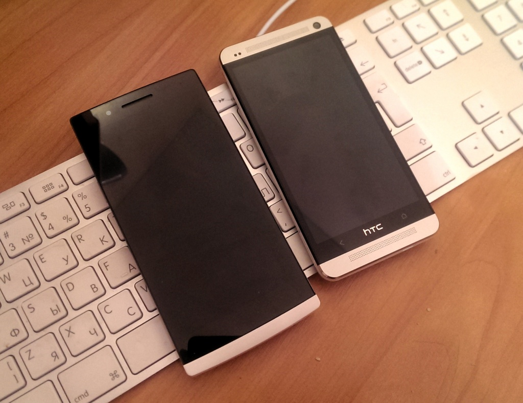 OPPO Find 5, HTC One