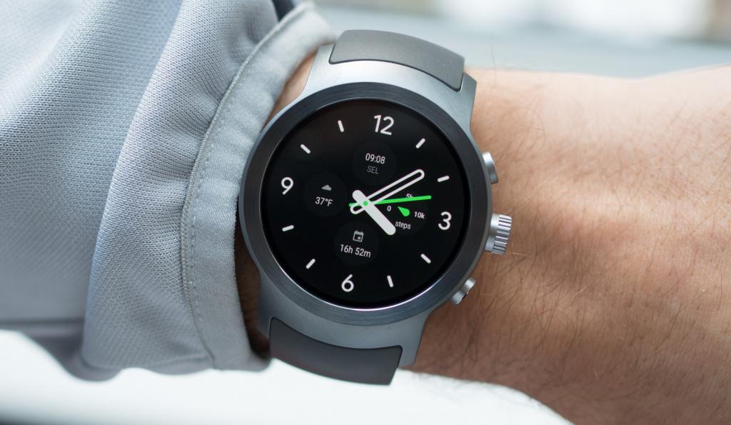 Смарт часы с большим экраном samsung