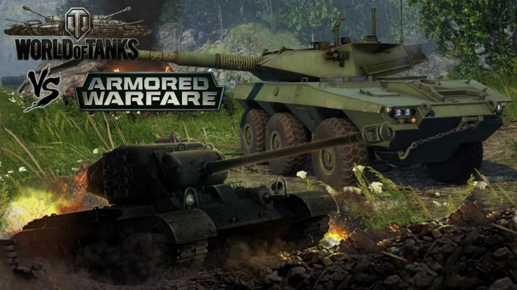 Armored Warfare vs World of Tanks