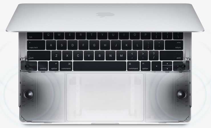 Динамики MacBook