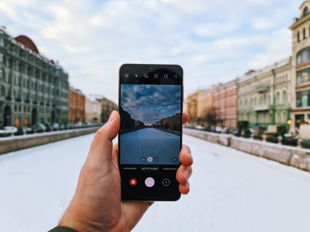Samsung Galaxy S21+ photo by @glyamin
