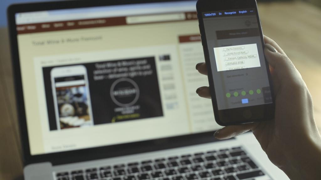 Новая мобильная технология ABBYY в реальном времени распознаёт текст с различных предметов