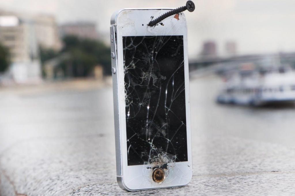 Новые iPhone будут иметь систему обнаружения трещин экрана