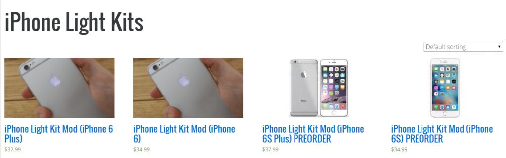 Как сделать чтобы на айфоне светилось яблоко