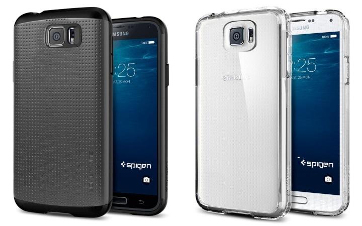 Производитель чехлов Spigen раскрыл дизайн Galaxy S6?