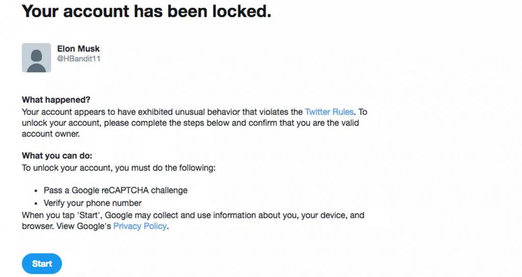 6786a299fb6 Не стоит называть себя Илоном Маском в Twitter. Ваш аккаунт навсегда ...