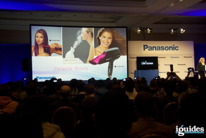 Пресс-конференция Panasonic на выставке CES