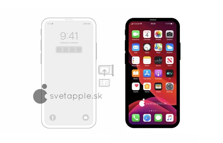 Находка в iOS 14 раскрыла, как выглядит прототип iPhone без «чёлки»