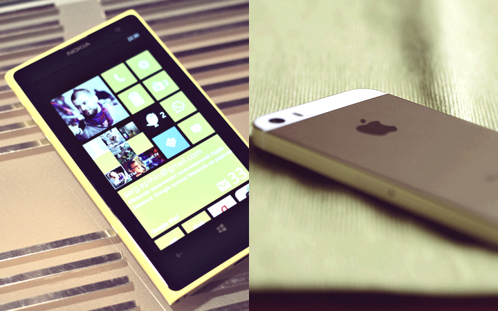 iPhone vs Lumia