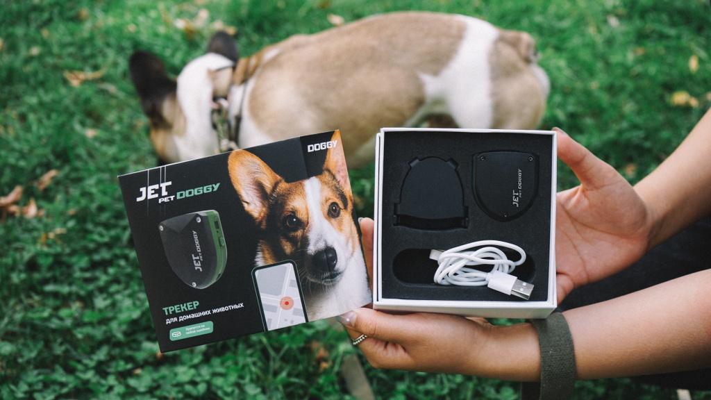 GPS трекер для собак Jet Pet Doggy