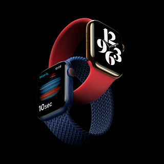 Что нового в Apple Watch Series 6