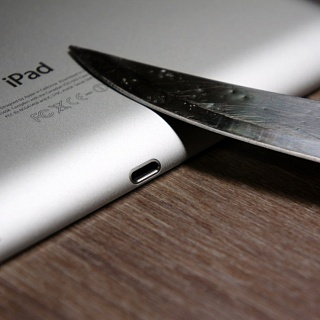 Осенний The new iPad