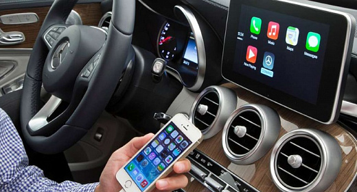 Система Apple CarPlay оптимизирована для России