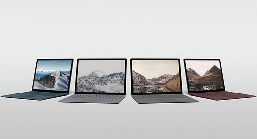 Surface Laptop — ноутбук Microsoft на базе Windows 10 S