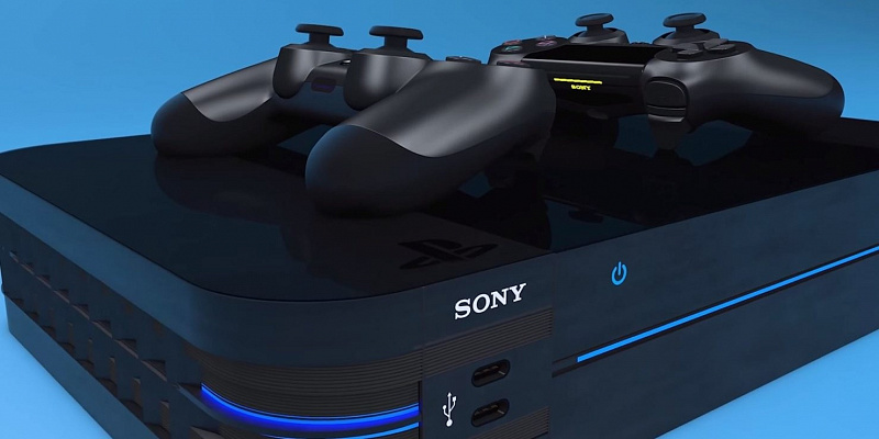 Концепт PlayStation 5 и DualShock 5 показали на видео