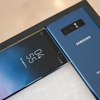 Samsung Galaxy Note 9 с новым пером S Pen на официальном изображении
