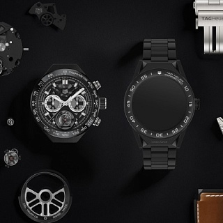 TAG Heuer Connected Modular 45 Watch — первые модульные часы на Android Wear